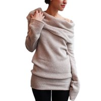 Wholesale New Winter Spring Women Pullovers Fashion Women Sweater Knitted Tops Long Sleeve Sexy Casual Sweaters Blusas Tops Plus Size