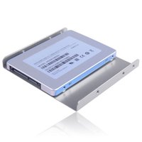Wholesale 2 to Adapter Bracket SSD HDD Notebook Mounting Hard Drive Disk Holder New