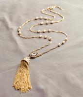 achat en gros de manteau pull pendentif-Pendentif en caoutchouc couleur d'or Colliers vintage Collier bijoux en ornement Chaîne Colliers Long Étoile Colliers Lady Sweater Coat # 175