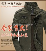 air force camouflage uniforms - Fall Newest XL USA air force one and upgrading military uniform camouflage windbreaker TAD men jackets and coats varsity jacket