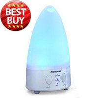 Wholesale 2013NEW Color changing White Electric ml Humidifier LED Lamp Ultrasonic Aroma Diffuser Humidifier