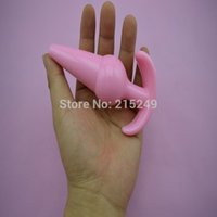 Wholesale Sexiest Anal Toys For Men - 13*3.8 cm New Silicone Waterproof Large Anal Body Massager , Erotic Sexy Adult Product,Anal Butt Plug Toys for Men & Women