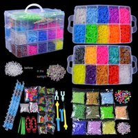 Cheap Wholesale 16000 x Rainbow Colourful Rubber Loom Bands Bracelet DIY Making Kit