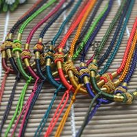 Wholesale Polymer Clay Bottle Rope Aromatherapy Bottle Jewelry Necklace Pendant Handing Chain Cord