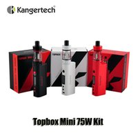 pro kit - 100 Original Kangertech Subox Mini Pro TC Starter Kit Kanger Topbox Mini Kits KBOX Mini W Box Mod Top Filling Toptank Mini Atomizers
