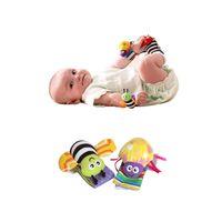 nouveau bébé jouet bébé poignet hochet hochet et Lamaze Ramaze chaussettes en peluche hochet multifonction Toy Baby Puzzle