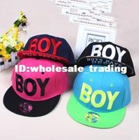 Cheap Wholesale Price Fashion Boy Letter Baseball Caps Hip Pop Snapback Caps Free Shipping Hats Caps For Autumn -summer