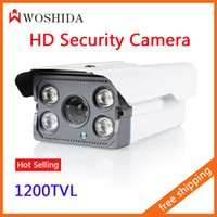 Indoor cctv ir led camera - CCTV Camera IR Array LED Home Camera Security Camera quot CCD TVL Night Vision Waterproof IP66 Woshida