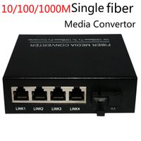 Wholesale china supplier m single mode single Fiber media converter RJ45 fiber media converter