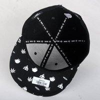 wave skateboard - New baseball cap flat brimmed hats hip hop hip hop hat men Korean wave skateboard hiphop cap