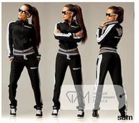 design new tracksuits - 2 Pieces A Set Female Tracksuits New Design Autumn Women s Zipper Hoodies Pant Sport Suits Moleton Feminino For Women