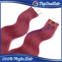 Cheap tape hair extensions human Best tape in hair body wave