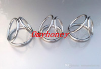 Cheap new stainless steel anal and ball toys cock rings dildo rings bondage chastity devices, sex toys for men, SM251