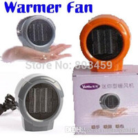 ceramic heater - Mini Portable Personal Ceramic Space Heater Electric Heaters V V Warmer Fan Forced Grey Orange A3