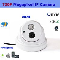 Wholesale New MP HD P Mini Network IR Dome IP Camera Night Vision P2P H Indoor ONVIF IPCC D09 F1103B