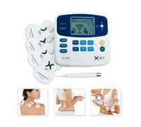 Cheap Tens Electric Pulse Massager Unit Excellent Muscle Stimulator & Massage Pain Relief (8 pads included)