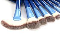 powder brush - Fashion slap up Professional Makeup Cosmetic Brush set Kit Case Face Powder Brushes Foundation Brushes