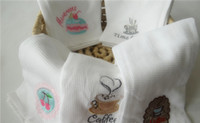 Wholesale Christmas Holiday Kitchen Cotton Waffle Towel Coffee Tea Towel Dishcloths New X70cm