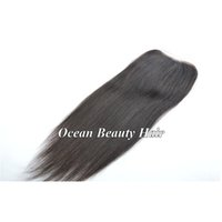 Cheap Brazilian Straight Closure Best Cheap Silk Base Closures