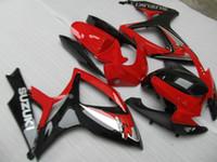 Precio de Suzuki gsxr750 fairing-NUEVOS 3 regalos + Asiento Cowl ABS carenados Kits para SUZUKI GSXR 600 750 K6 06 07 GSXR750 GSXR600 GSX R600 R750 2006 2007 Fresco brillante rojo y negro