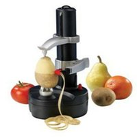 automatic peeler potato - Multifunction Stainless Steel Electric Fruit Apple Peeler Potato Peeling Machine Automatic