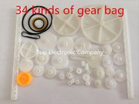worm reducer - kinds of rack and pinion gear bag toy model pulley plastic worm gear reducer for arduino diy kit