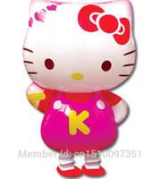 animal mylar balloon - 50pcs Hello Kitty Pet Walking Animals Balloons Hulium Mylar Balloons Baby s toy Party Decoration Gift