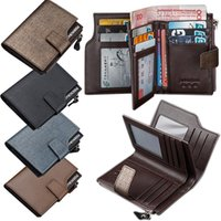 bag photo seller - Top Seller Men s Business Short Wallets Credit Card Holder Bag Purse PU Leather Fashion Size CM EK98