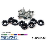 Wholesale D1 Spec M6 x Fender Washers Bumper Washer Lisence Plate Bolts Kits for Honda D1 DP01S
