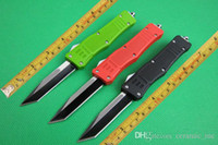 Wholesale 6 styles Microtech combat troodon steel blade single blade Tanto point Tactical survival knife knives A161 Camping knife