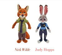 best zoos - Stuffed Animals Plush Toys The Latest Cartoon Movie Zootopia Zoo Rabbit Judy Hopps Nick Wilde Cute Soft Doll Best Gifts For Kids Toys