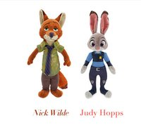 best zoos - Top Sale The Latest Cartoon Movie Zootopia Zoo Rabbit Judy Hopps Nick Wilde Cute Soft Doll Best Gifts For Kids Toys
