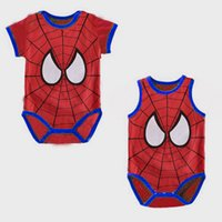 bebe clothing - Spiderman Bebe bodysuits Sleeve Baby Clothes Superhero Toddler Coverall Hot Sale