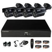 surveillance camera system - ZOSI TVL CCTV system CH H Realtime D1 DVR x CMOS IR CUT waterproof outdoor camera surveillance security system