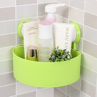 Wholesale Chuck Bathroom Shelf Strong Triangle Hanging Receive Sanitary Bathroom Storage Shelf Zy00228