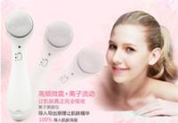 Wholesale New Vibrate Ultrasonic Ionic Beauty Anti Aging Lifting Spa Skin Beauty Salon Facial Massager Iontophoresis device