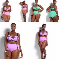 Cheap Women Plus Size Bikini Swimsuit Best Women Triangle Bikinis Swimwear