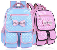 bag princesses - 2016 Retail PC Girls School Bags Backpack Sweet Princess School Backpacks For Children Age Years ZZ2907