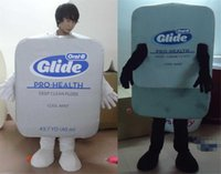 dental costumes - RH0414 adult dental floss box mascot costume suit for adult to wear for promotion