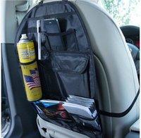 Wholesale car oxford fabric back bags back bag black glove bag storage bag