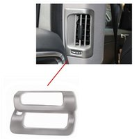 aluminum vent covers - Car Styling Air Condition Cover Air Vent Cover Decoration Trim For Volvo Xc60 Stainless Steel order lt no track