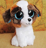 big eyed dogs - TY big eyed cm plushed dog doll toys for lovely doll for baby AB102