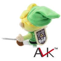 Wholesale 2015 Hot sale Legend of Zelda Plush Doll cm Stuffed Toy skyward sword zelda link plush dolls boys girls toys