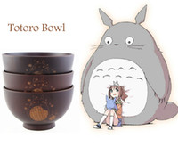 antique wooden bowl - 2015 Natural wooden soup or rice Bowls Totoro bowl tibet antique crafts Adults product for kids christmas gifts tableware