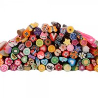 fimo canes - 100pcs Hot Sales Cute D Nail Art FIMO Canes Rods Decoration From USA Warehouse