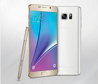Nota 5 Desbloqueado 1:1 MTK6592 Octa Core Android 5.1 Lollipop Mostrar 3 GB 64 GB 4G LTE de 5,7 pulgadas Note5 Smart Teléfono Celular