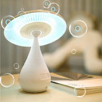 air oxygen sensor - Mushroom Lamp desktop table lamp touch sensor USB Rechargeable energy saving Oxygen Ion Air Purifier Adjustable Touch Night Light