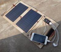 Wholesale Factory Outlet Quality Assurance W Outdoor Portable Folding Solar Charger Mobile Power Supply Pad Wild Treasure Strict Testing