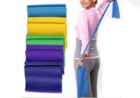 Wholesale Yoga Pilates Rubber Stretch Resistance Exercise Fitness Band Cool