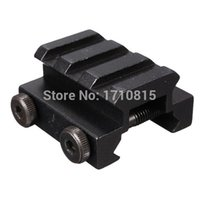 Wholesale 2015 New Black Tactical Slot Low Riser Scope Mounts Sight Flashlight Mount Rail Fit mm Hunting Accessories